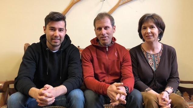 Antoine Briand, Christian Briand et Hélène Olivier
