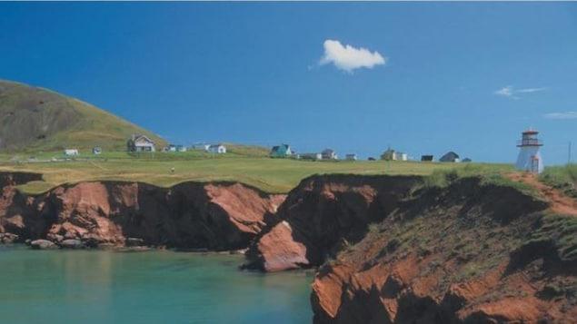 Image d'un paysage Québécois.