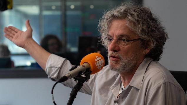 François Girard, en studio