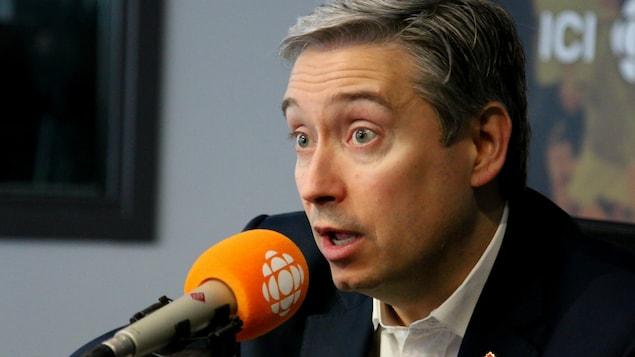 Photo de François-Philippe Champagne, Ministre de l'Infrastructure et des Collectivités