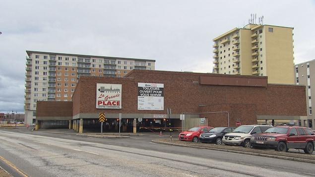 Ancien centre commercial la Grande Place à Rimouski