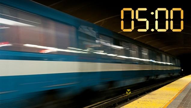 Chaque matin, le métro de Montréal est « allumé ».