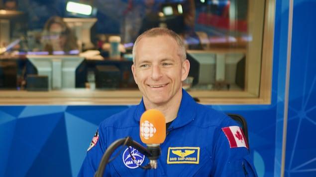 L'astronaute David Saint-Jacques