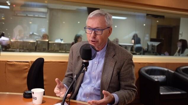 Guy St-Jacques, ancien ambassadeur du Canada en Chine.