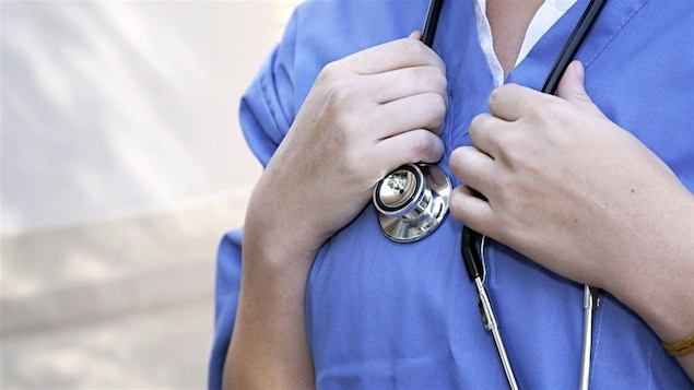 Une infirmière