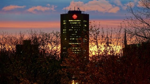 La Maison de Radio-Canada, à Montréal.