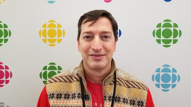 Pascal Michelucci en entrevue à Radio-Canada à Toronto