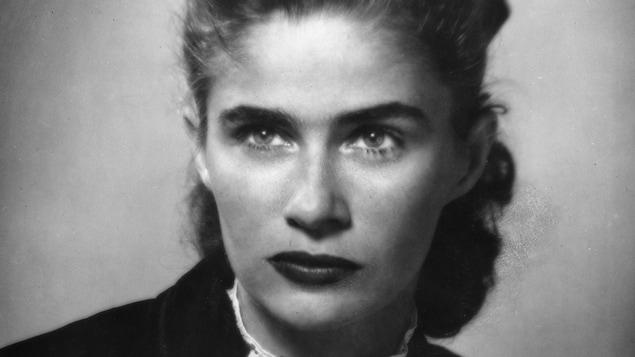 Anne Hébert.en 1952