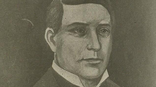 Portrait dessiné de Jos Montferrand.