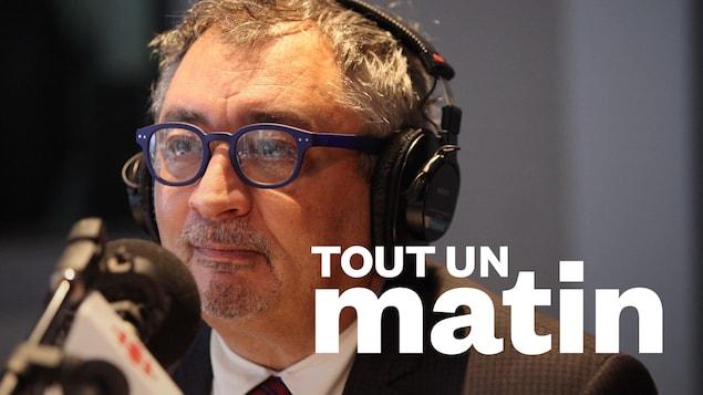 Horacio Arruda au micro de Tout un matin.