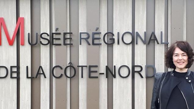 Johane Bergeron, directrice du Musée régional de la Côte-Nord à Sept-Îles
