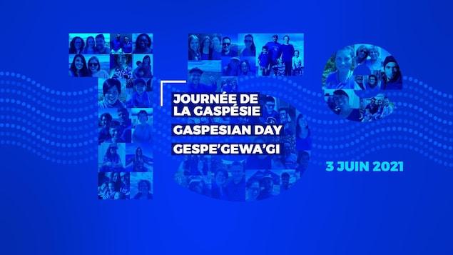 L'affiche de la Journée de la Gaspésie 2021.