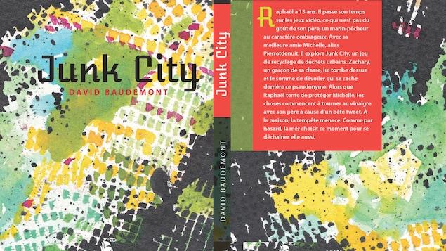 La couverture du livre 'Junk City' de David Beaudemont.