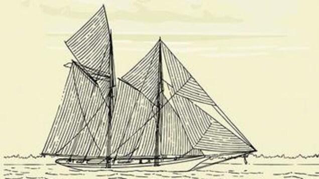 Couverture du livre le labrador montrant un voilier