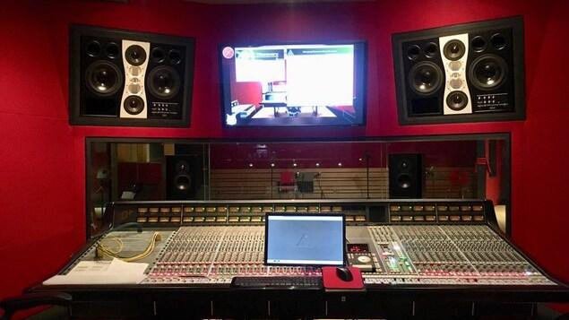 Vue partielle du studio LARC
