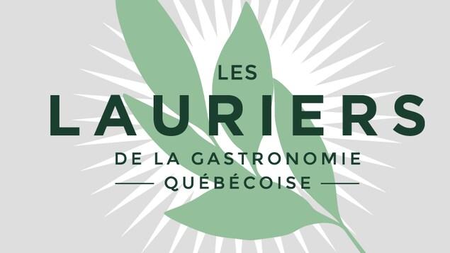 Logo de l'événement Les Lauriers de gastronomie québécoise.