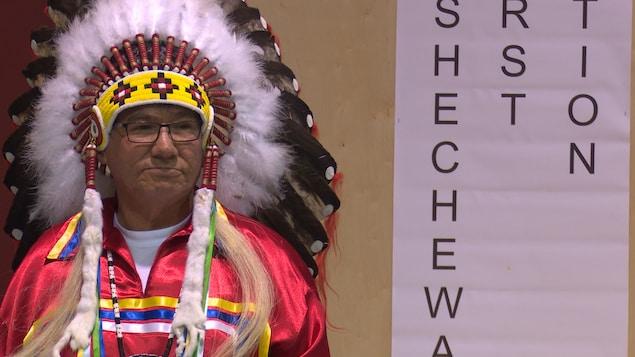 Le chef de la Première Nation de Kashechewan, Leo Friday