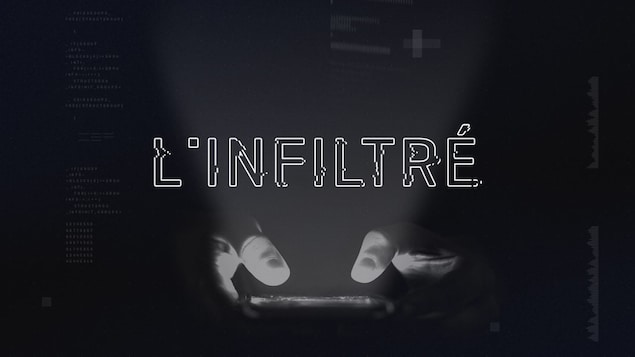 Logo de l'application <em>L'infiltré</em>, un jeu de politique-fiction
