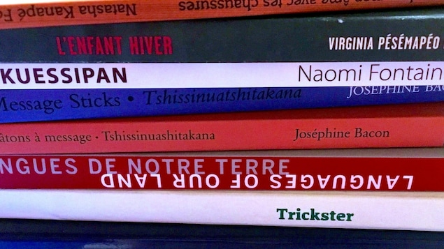 Des livres empilés les uns sur les autres.