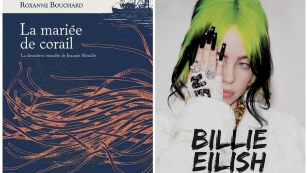 Deux couvertures de livres.