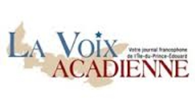 Logo du journal  La voix acadienne