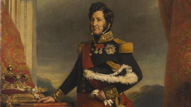 Portrait peint du roi Louis-Philippe.