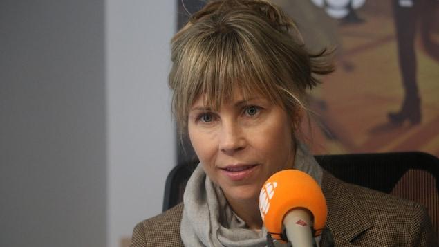 Louise Archambault en entrevue à l'émission Première heure avec Claude Bernatchez