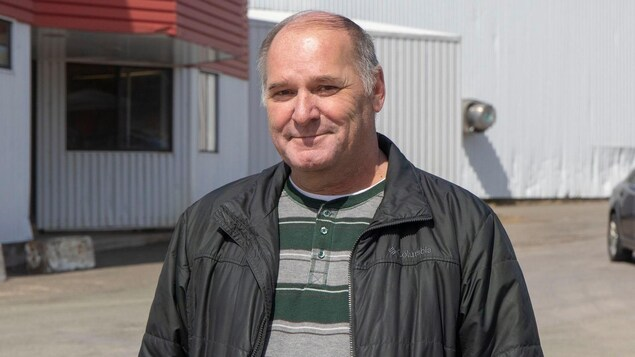 Luc Legresley. souriant