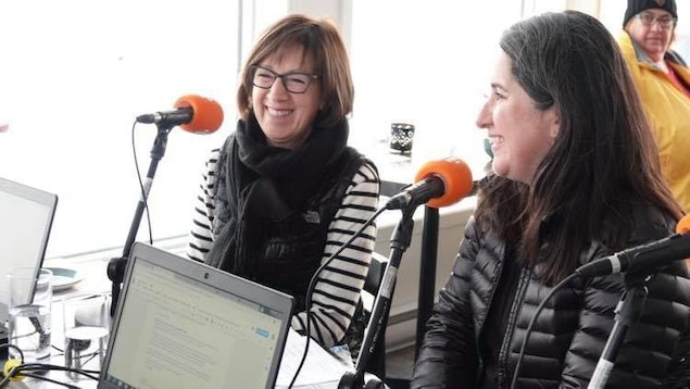 Marie Leblanc et Stéphanie Thibaud