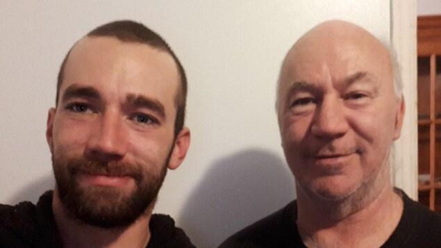 Martial Hovington et son fils Martial Hovington Jr.