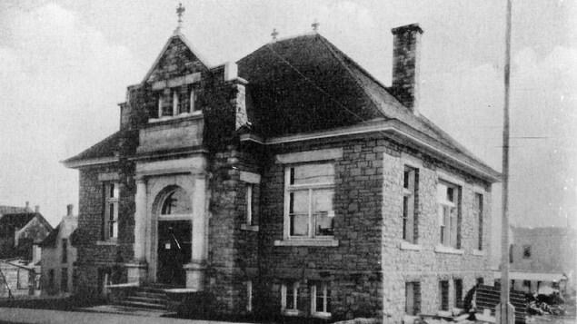 Photo ancienne de l'édifice.