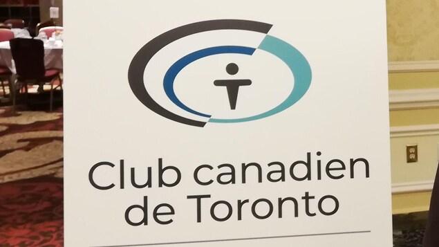 Le logo du Club canadien de Toronto.