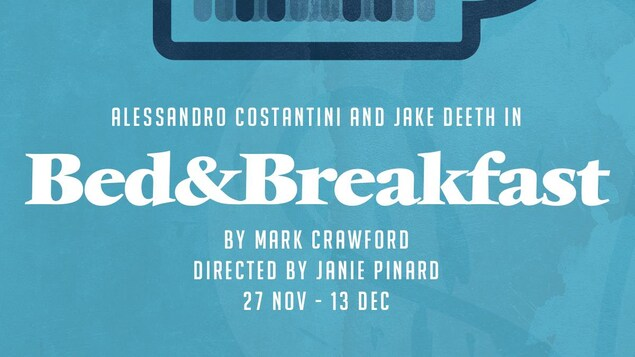 L'affiche pour le spectacle « Bed and Breakfast »