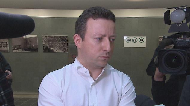 Michaël Bourget, procureur de la Couronne au procès de Simon Beaulieu