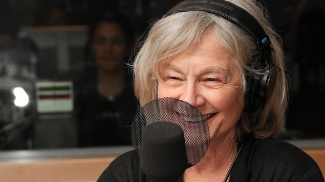 La cinéaste et comédienne Micheline Lanctôt, toute rayonnante