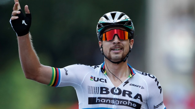 Le Slovaque Peter Sagan (Bora)