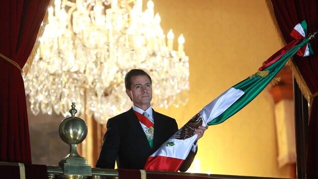 L'ex-président mexicain Enrique Peña Nieto