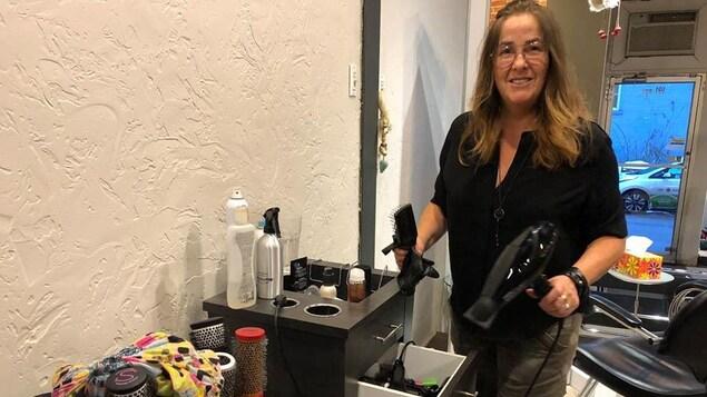 Liette Gaudreault du Salon Caboche