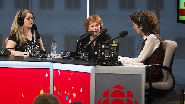 Anne-Marie Dupras, Janette Bertrand et Catherine Perrin
