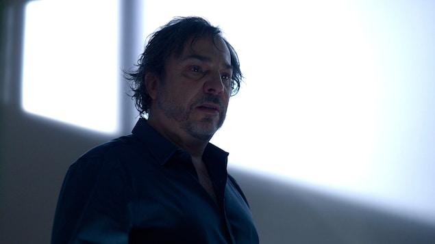 Christian Bégin dans le film Le problème d'infiltration, réalisé par Robert Morin