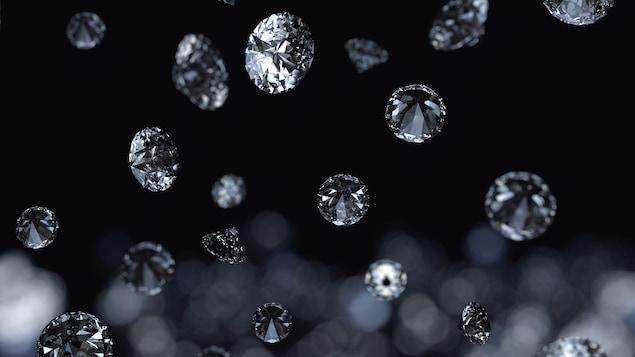 Des diamants en pleine chute