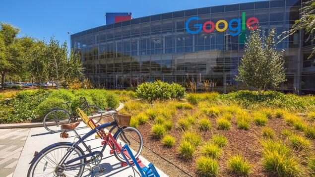 Les bureaux de Google en Californie