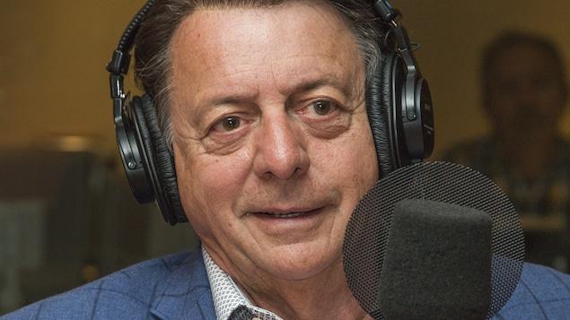 Jean-Luc Mongrain au micro de Stéphan Bureau