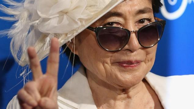 Yoko Ono en 2016.