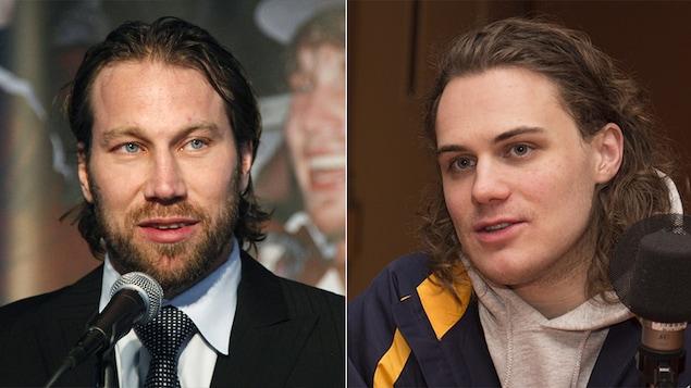 L'humoriste David Beaucage a réussi à rencontrer son idole, le joueur de hockey Peter Forsberg.