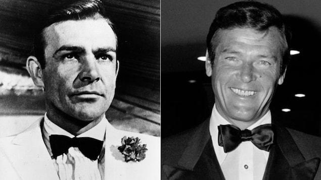 Sean Connery et Roger Moore ont tous deux joué le rôle de James Bond