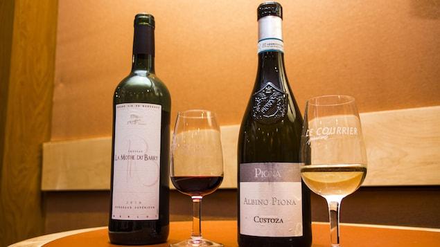 La sommelière propose deux vins à moins de 20 $ cette semaine.