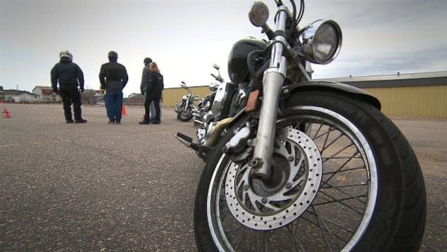 Cours de conduite de motocyclette