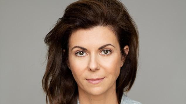 La comédienne Myriam LeBlanc