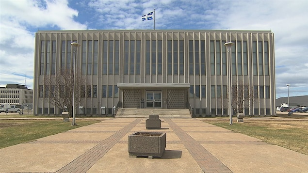 Palais de justice de Sept-Îles.